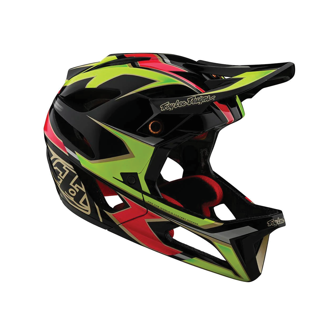 Helmet Troy Lee Femme Stage Ropo Pink/Yellow-3