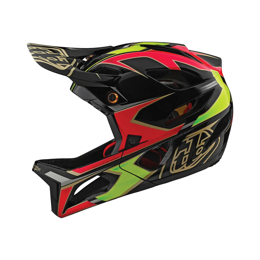 Helmet Troy Lee Femme Stage Ropo Pink/Yellow-2