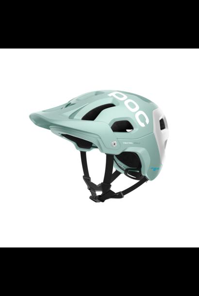 Helmet POC Tectal Race Spin Apophyllite Green/Hydrogen White Matt