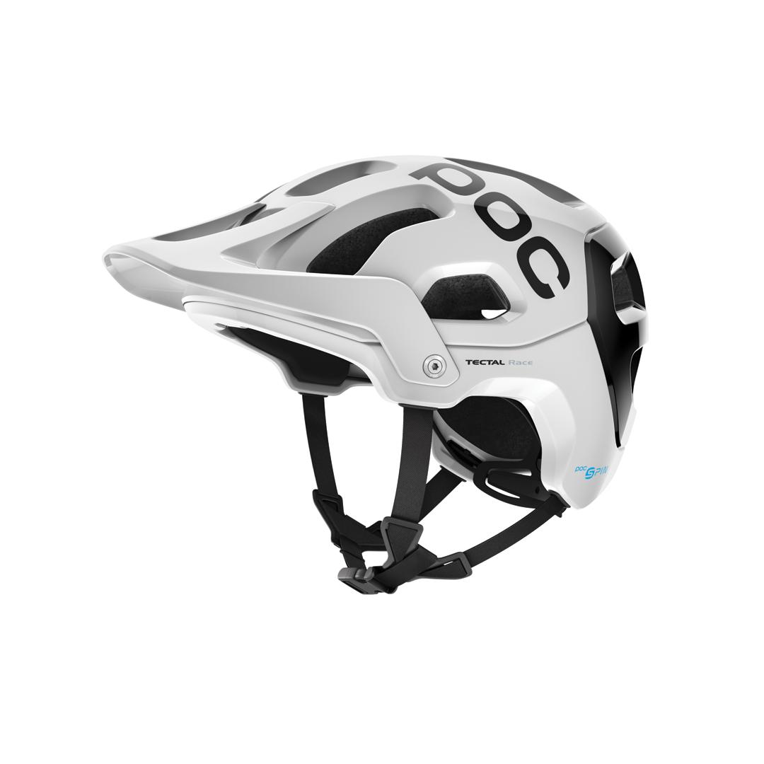 Helmet POC Tectal Race Spin Hydrogen White/Uranium Black Helmet-1