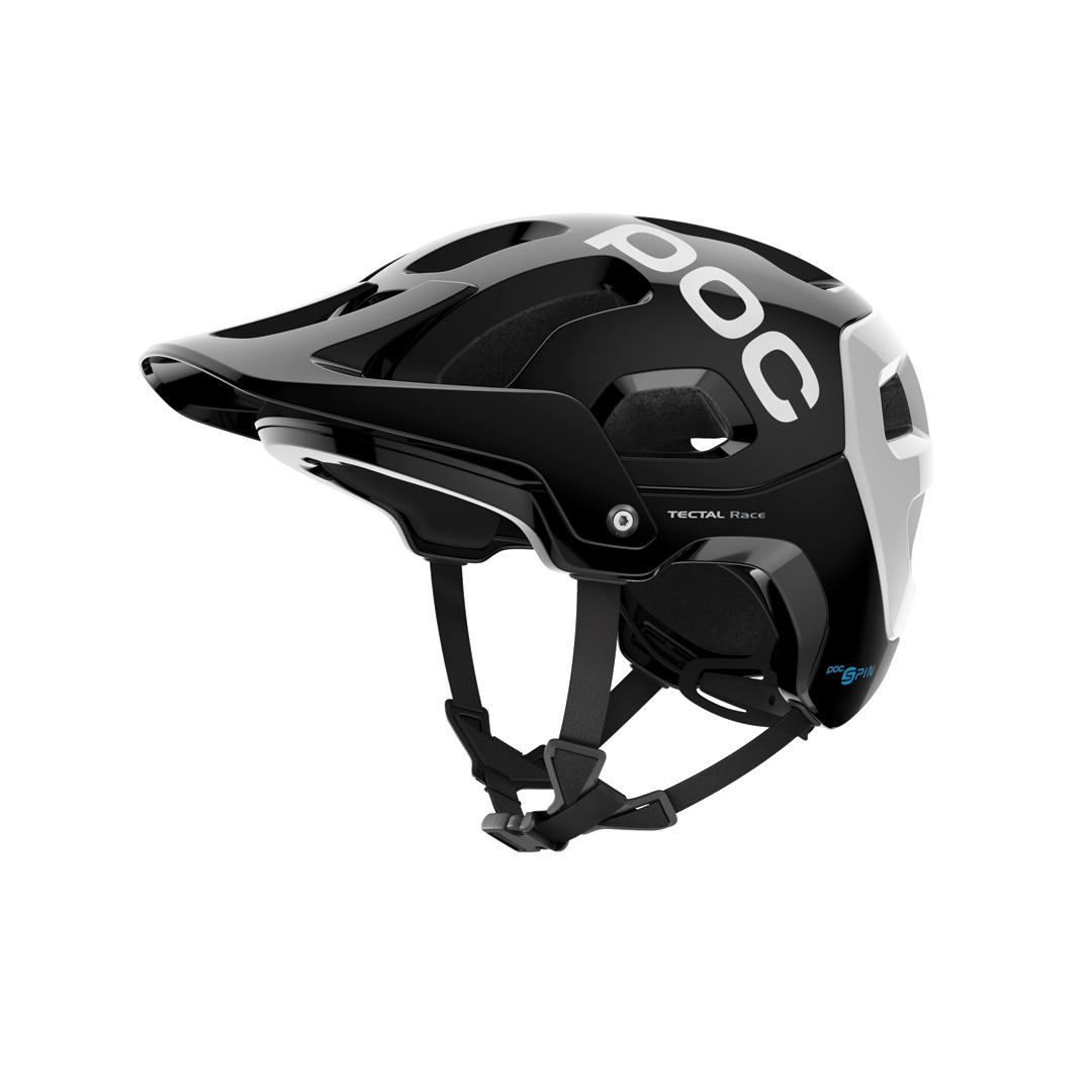 Helmet POC Tectal Race Spin Uranium Black/Hydrogen White-1