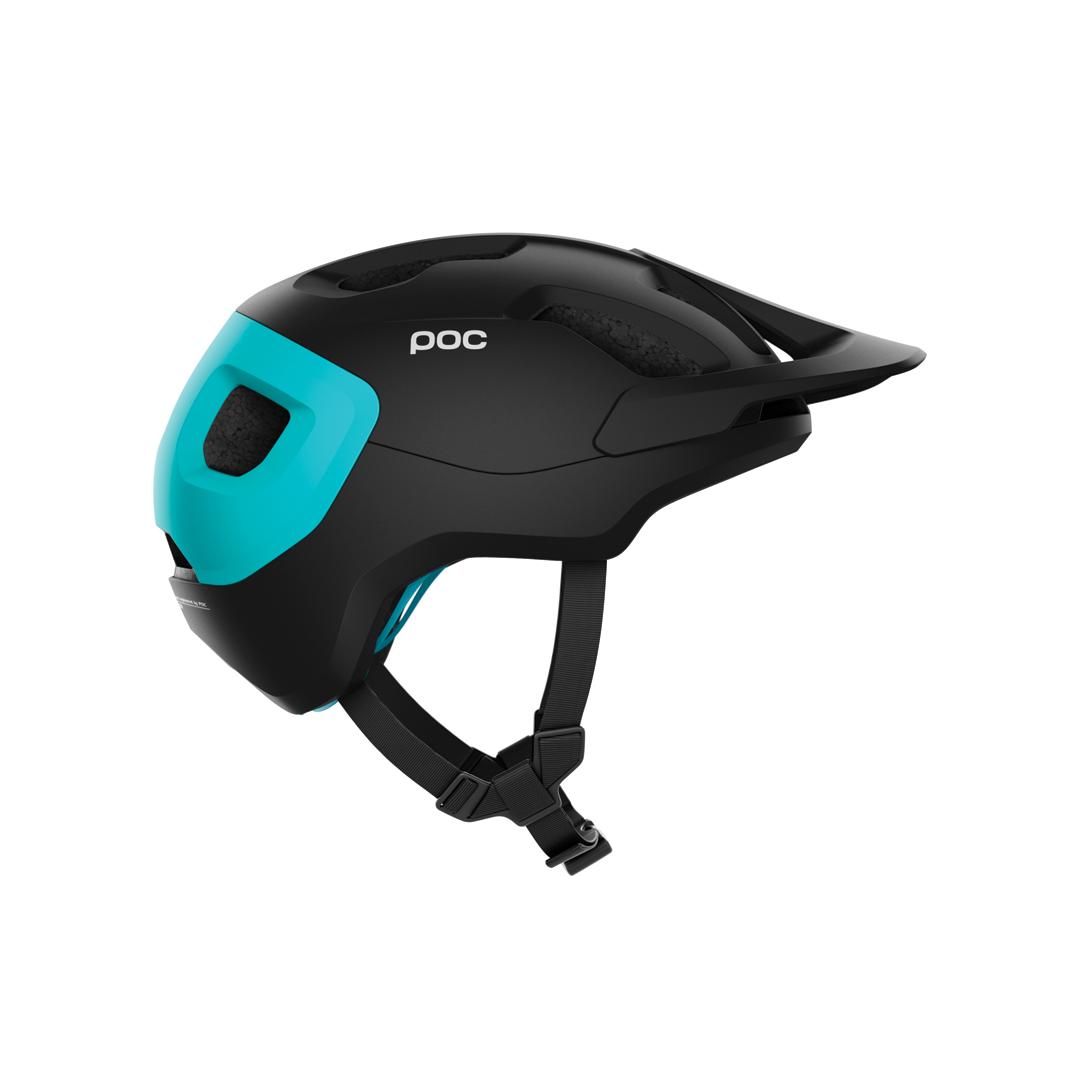 Helmet POC Axion Spin Uranium Black/Kalkopyrit Blue Matt-2