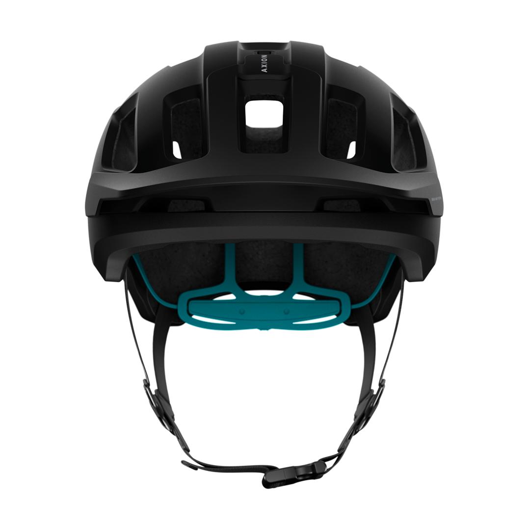Helmet POC Axion Spin Uranium Black/Kalkopyrit Blue Matt-3