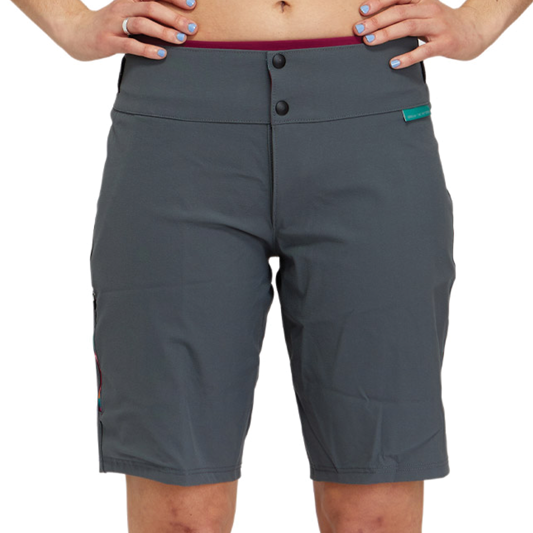 Short Peppermint Wild MTB Flag Grey-1