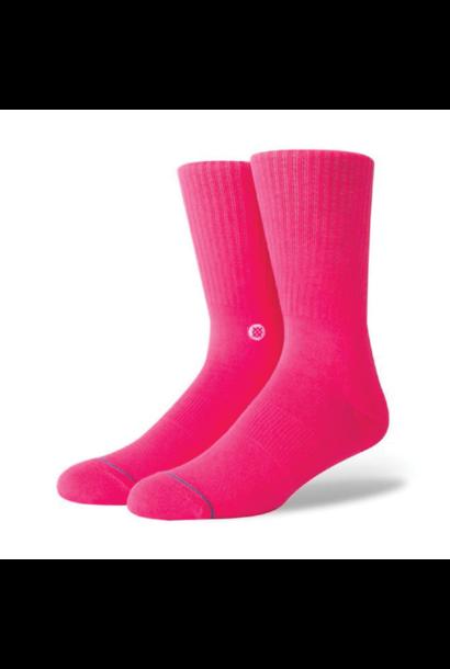 Socks Stance Life Icon Neon Pink