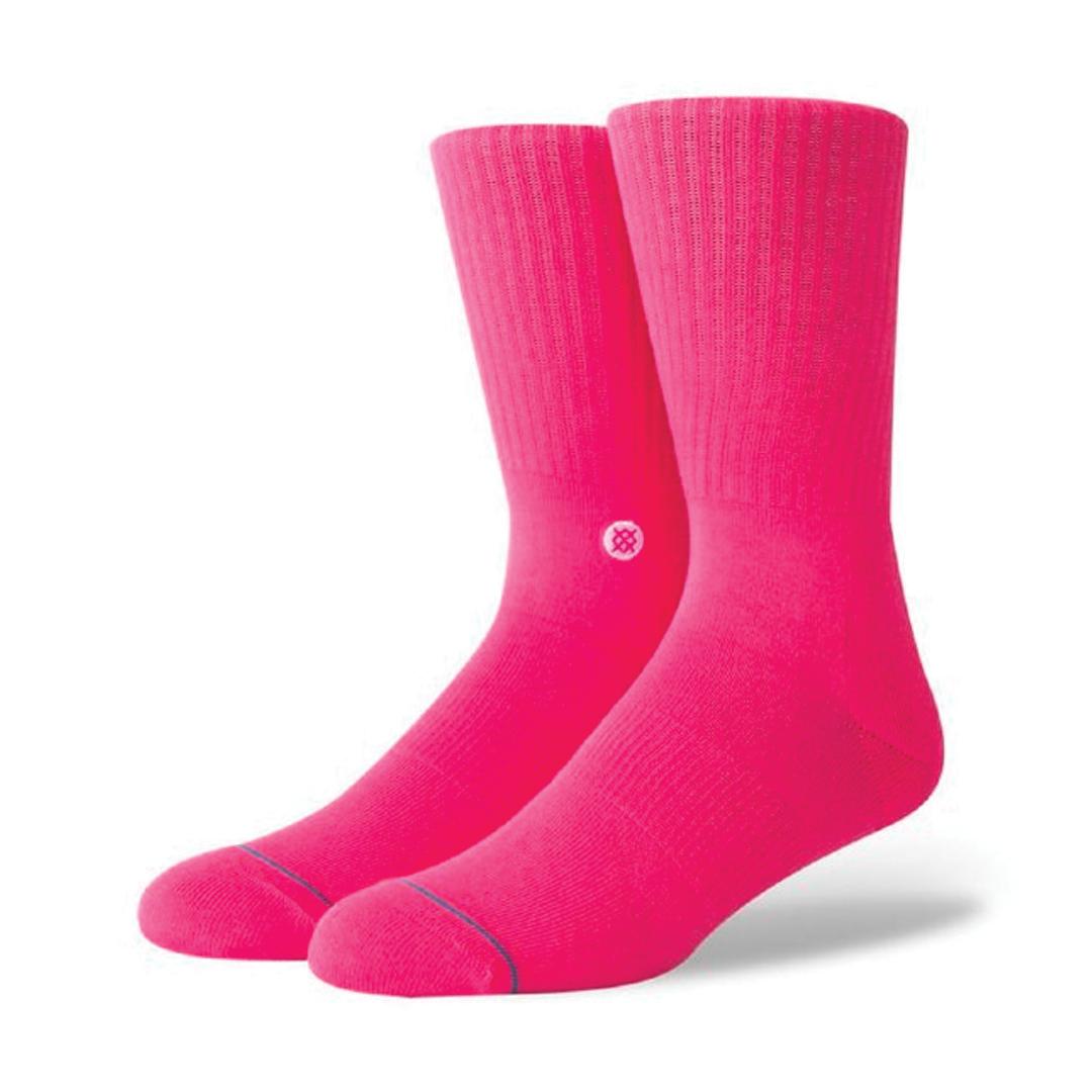 Socks Stance Life Icon Neon Pink-1