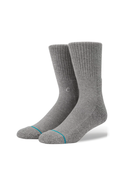 Socks Stance Icon Grey Heather