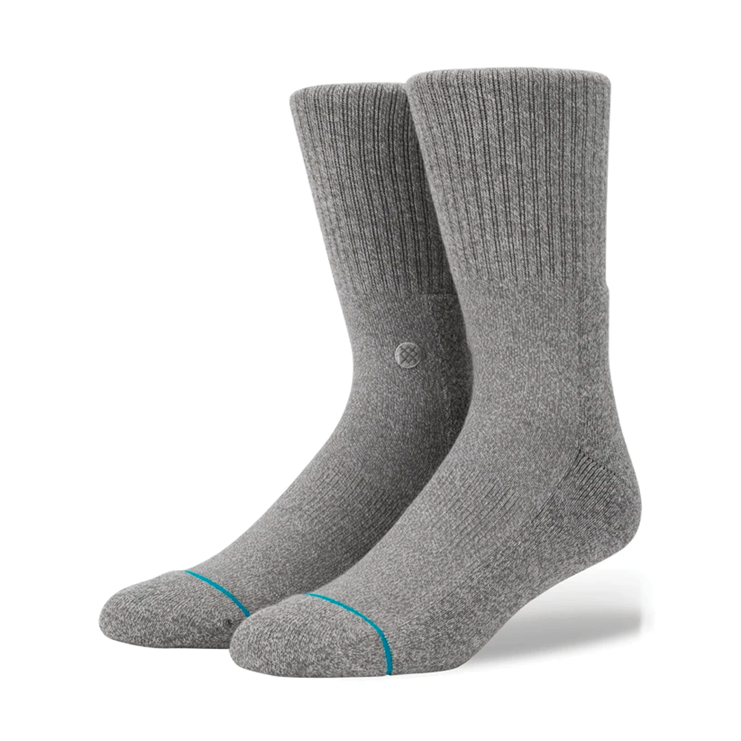 Socks Stance Icon Grey Heather-1