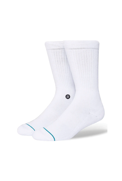 Socks Stance Icon White/Black