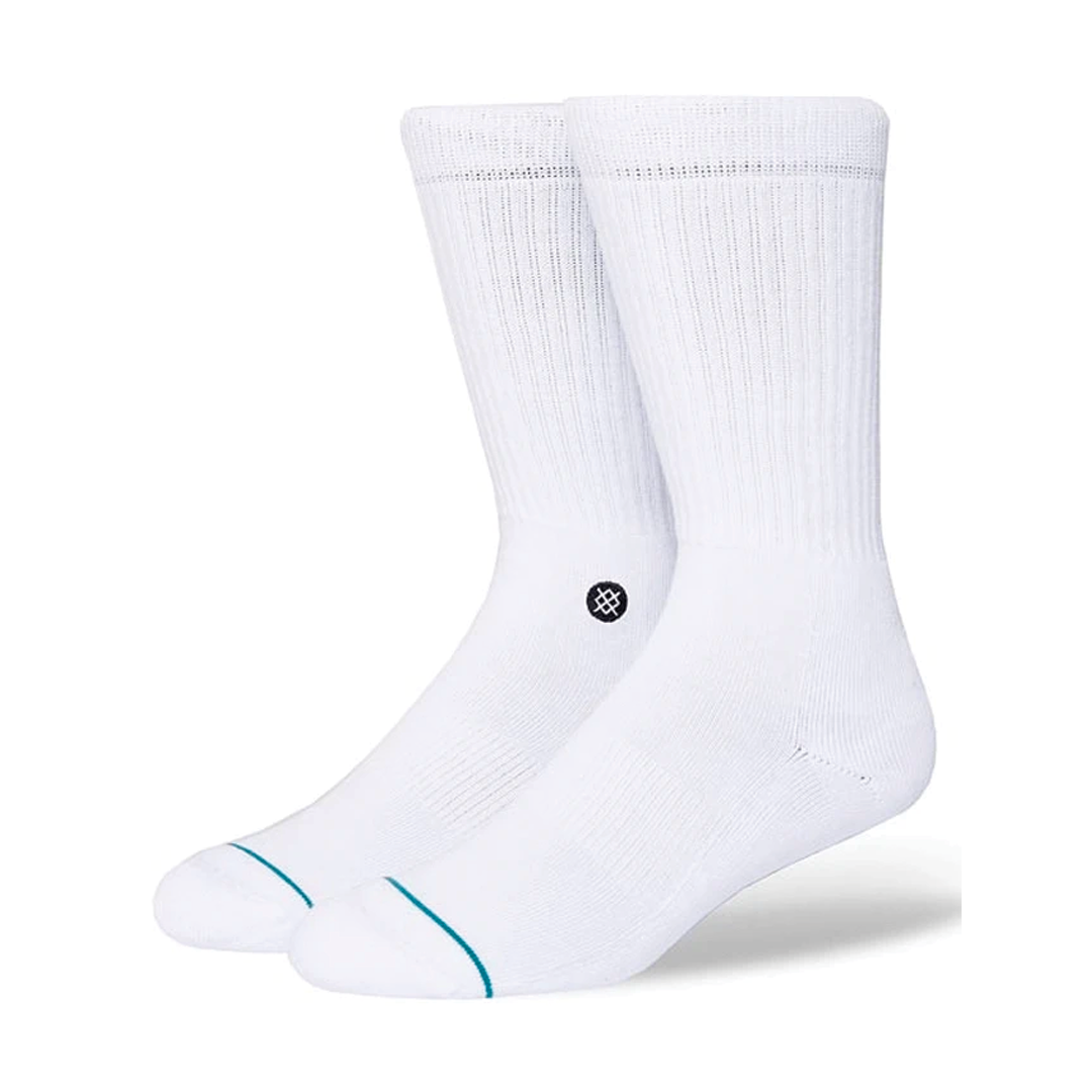Socks Stance Icon White/Black-1