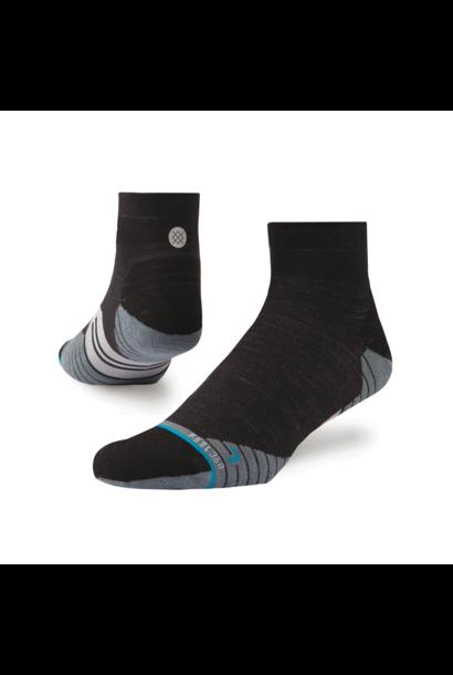 Socks Stance Bike  Solids Quarter Wool Charcoal