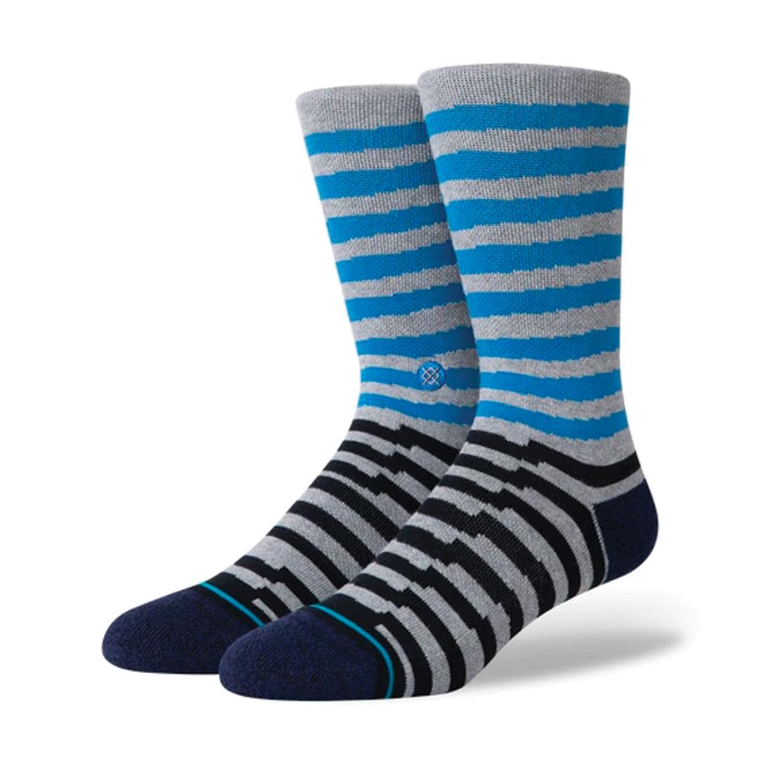 Socks Stance Breakdown Crew Bleu-1