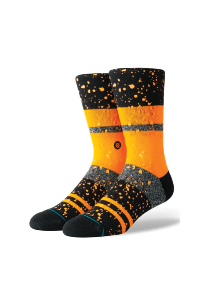 Socks Stance Nero Orange