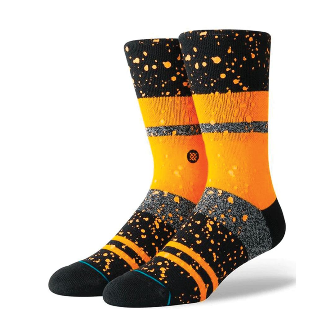 Socks Stance Nero Orange-1
