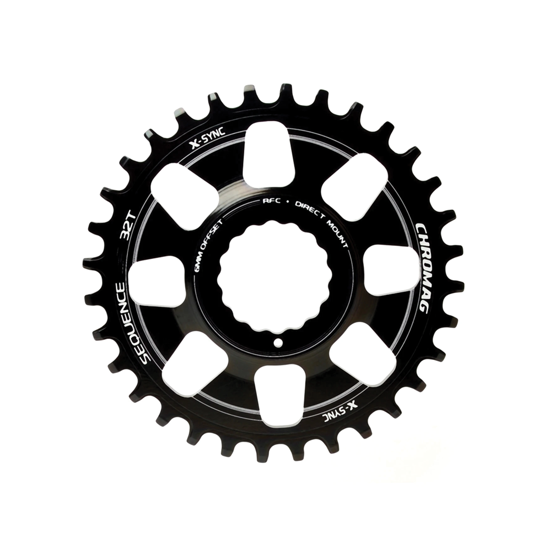 Chainring Chromag Sequence Direct Mount Rfc Noir 32T-1