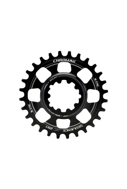Chainring Chromag Sequence Direct Mount Gxp Noir 30T