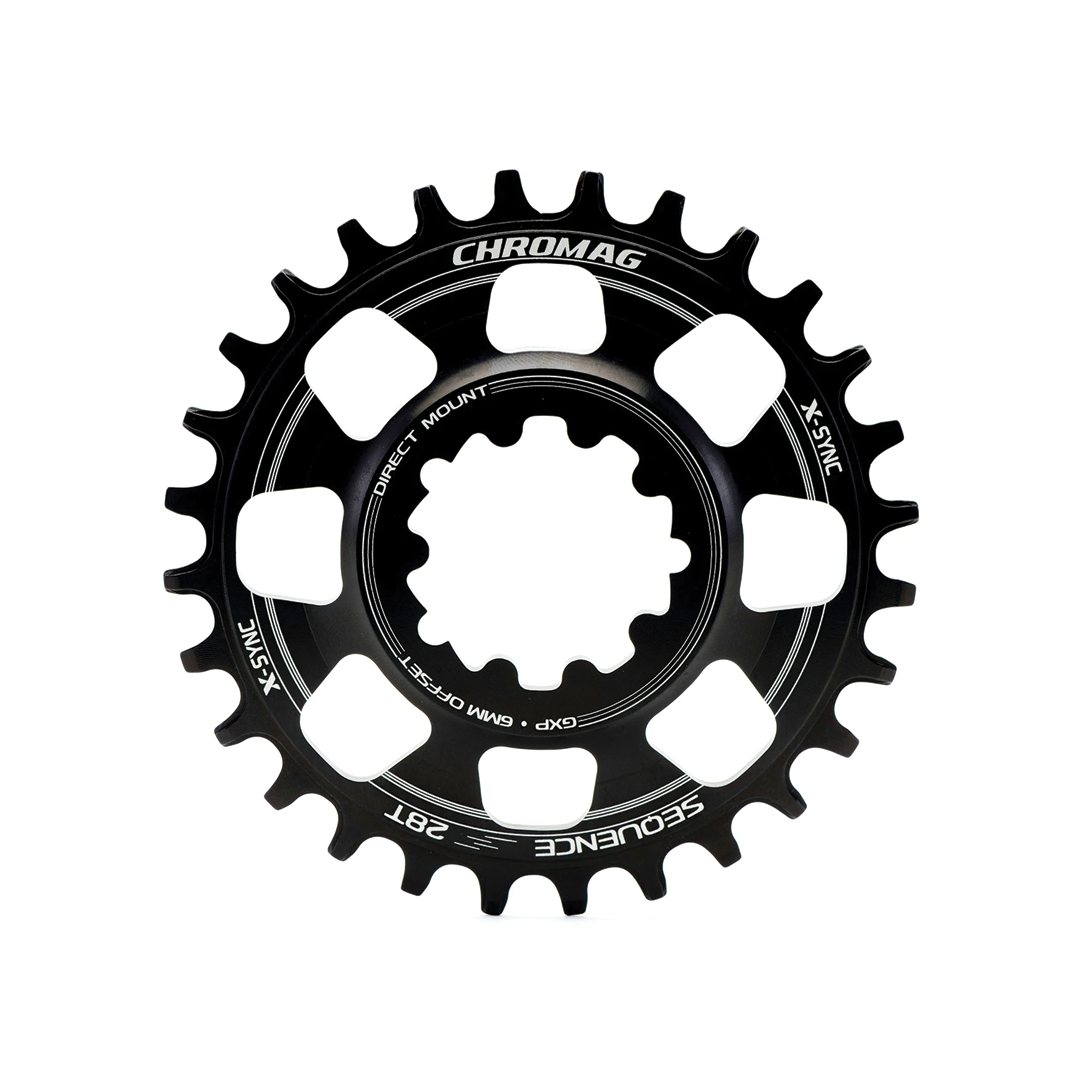 Chainring Chromag Sequence Direct Mount Gxp Noir 30T-1