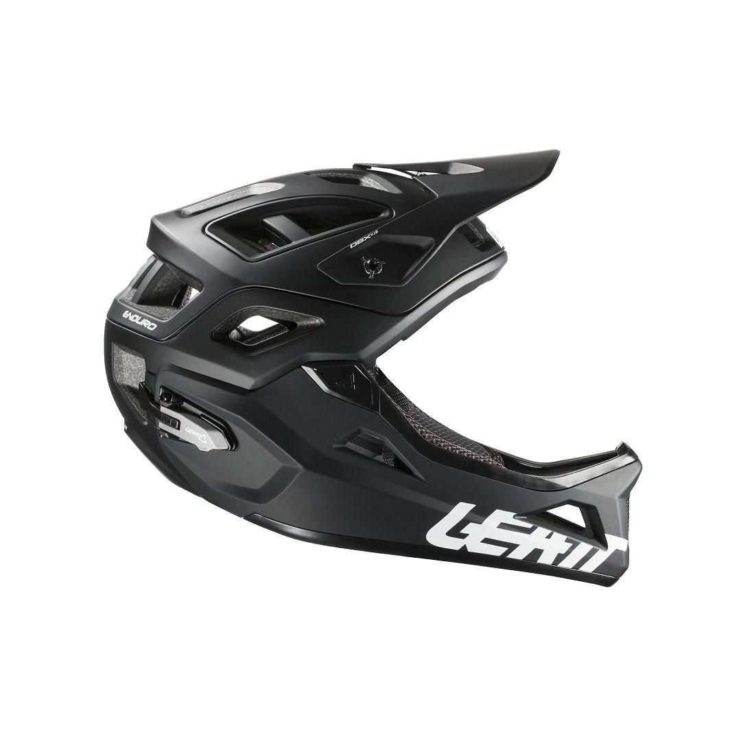 Helmet DBX 3.0 Enduro Black/White-3