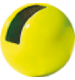 Hanak HANAK Slotted Tungsten Beads - Fluo Chartreuse 4.0mm