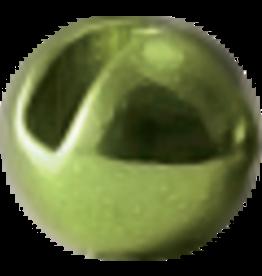 Hanak HANAK Slotted Tungsten Beads - Metallic Olive 3.5mm