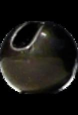 Hanak HANAK Slotted Tungsten Beads - Matte Black 3.5mm