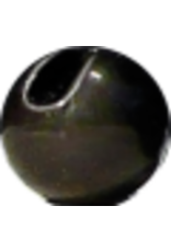 Hanak HANAK Slotted Tungsten Beads - Matte Black 4.0mm