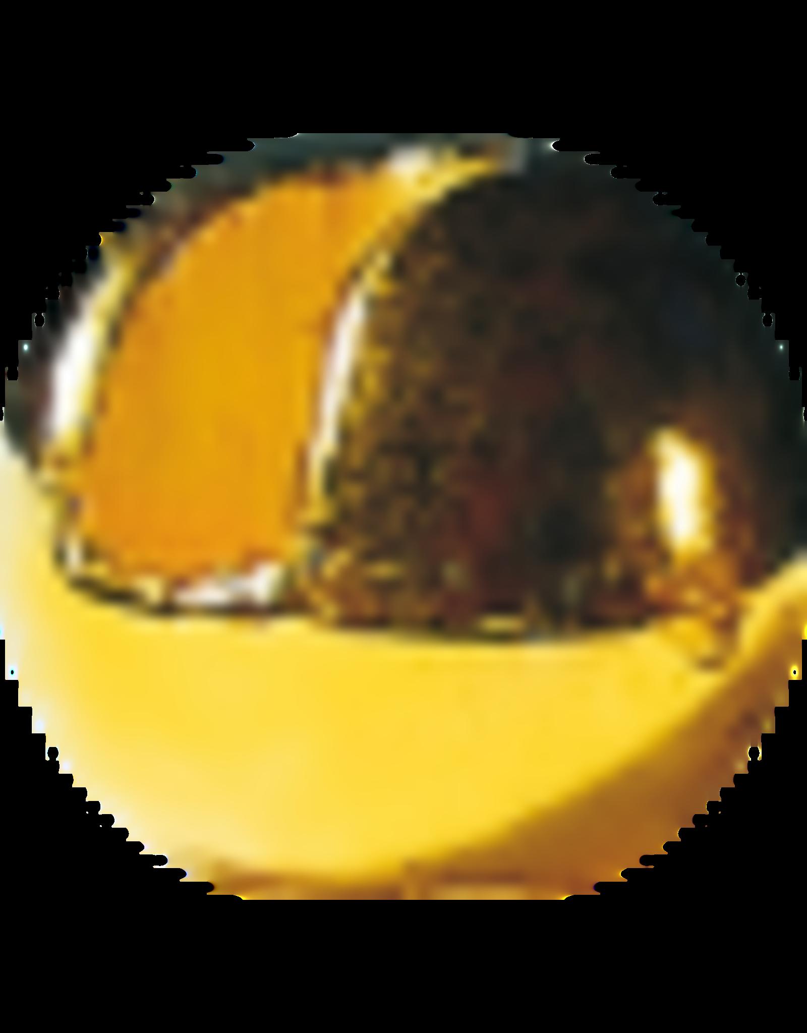 Hanak HANAK Slotted Tungsten Beads - Gold 2.5mm