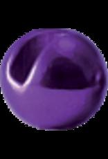 Hanak HANAK Slotted Tungsten Beads - Metallic Purple 3.5mm