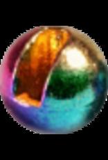 Hanak HANAK Slotted Tungsten Beads - Metallic Rainbow 3.5mm