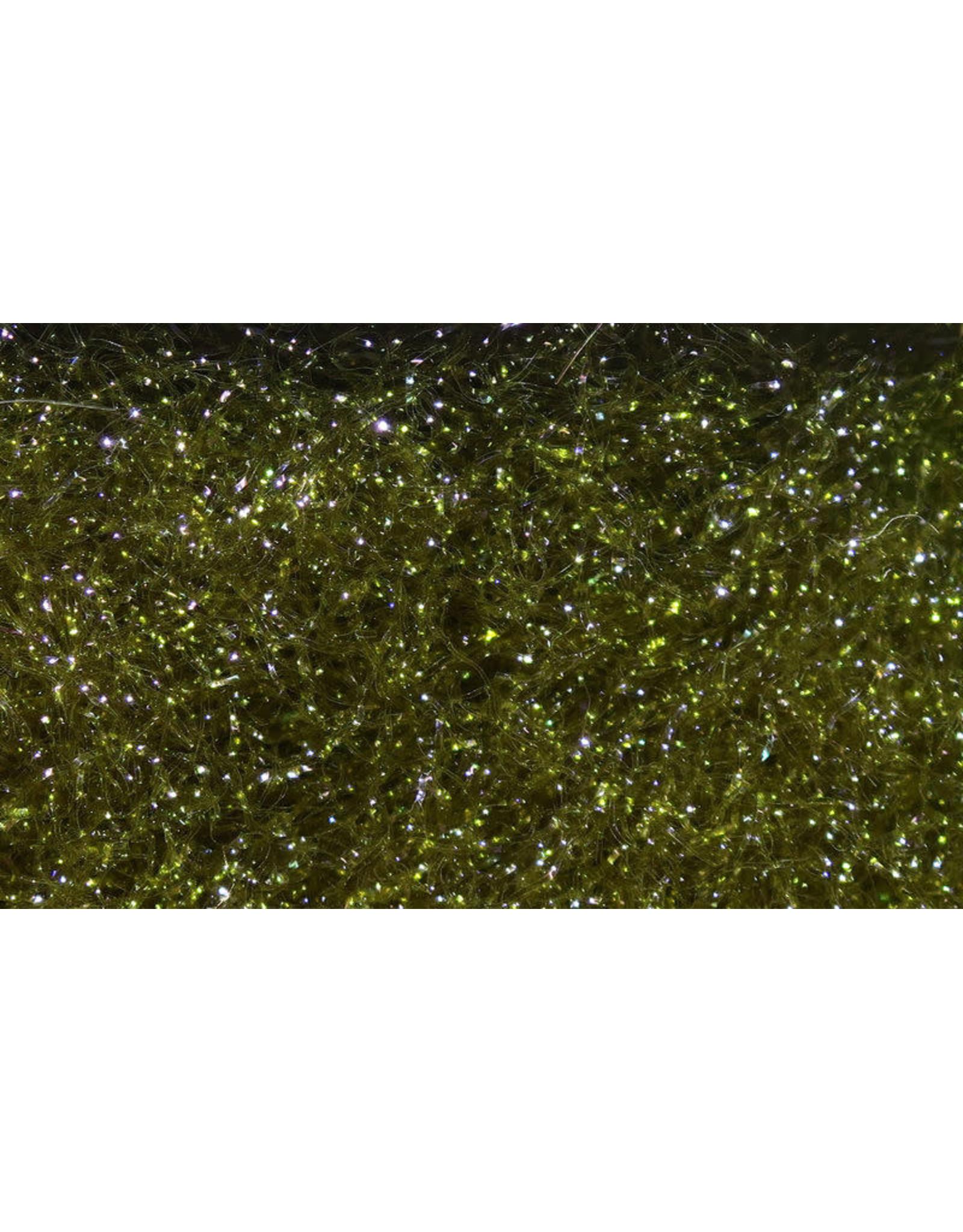 Hareline Ice Dub - UV Dark Olive #95
