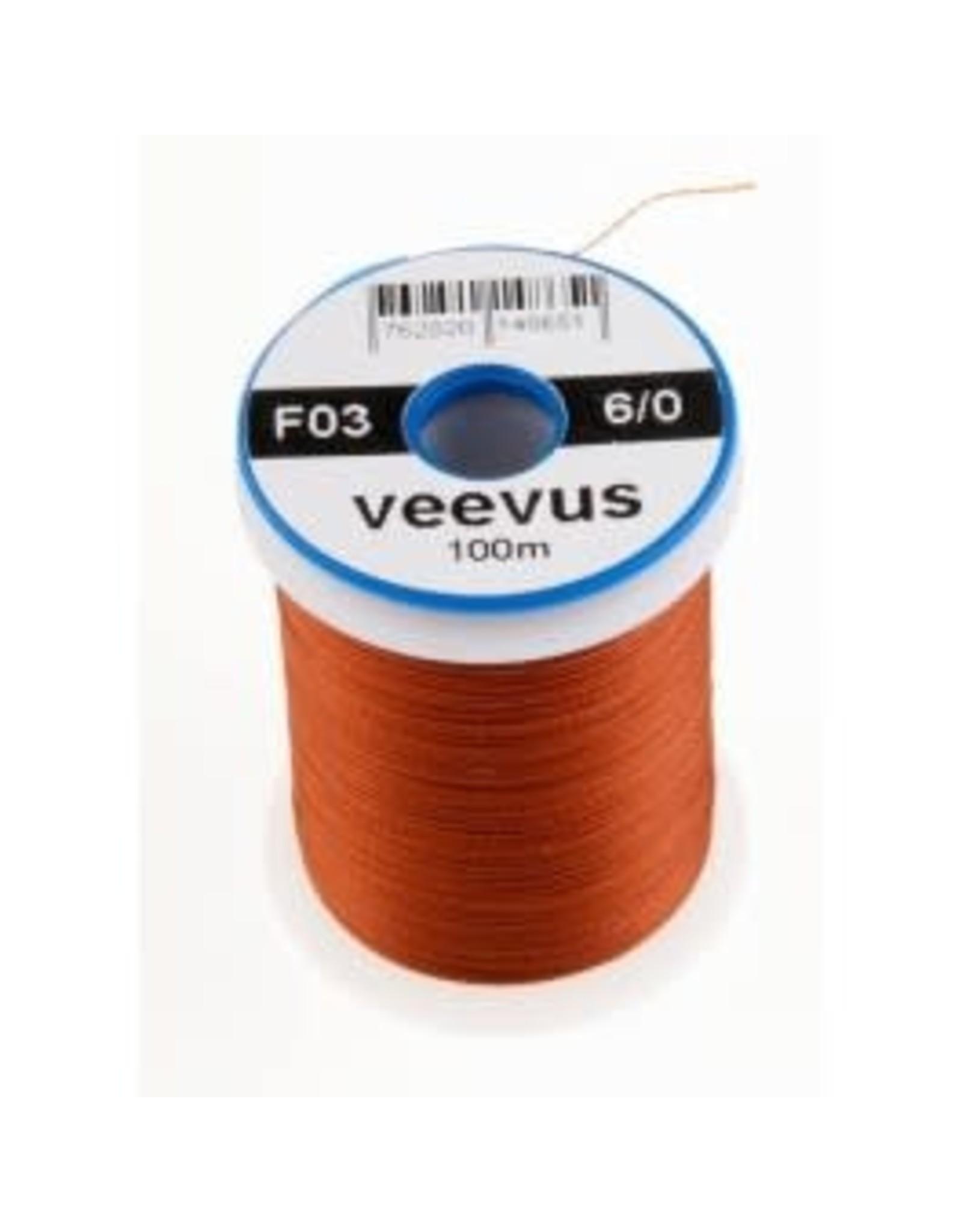 Veevus 6/0 Rusty Brown Veevus Thread