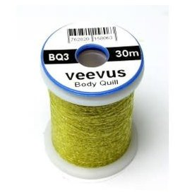 Veevus Body Quill Light Olive
