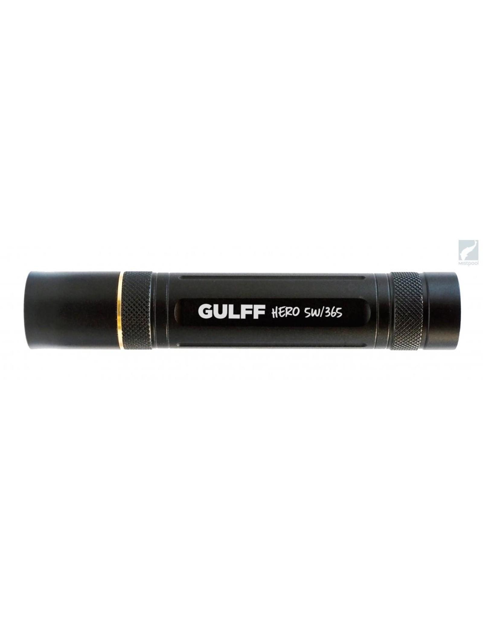 Gulff Gulff Hero Fluoro Boosted  5W UV Flashight