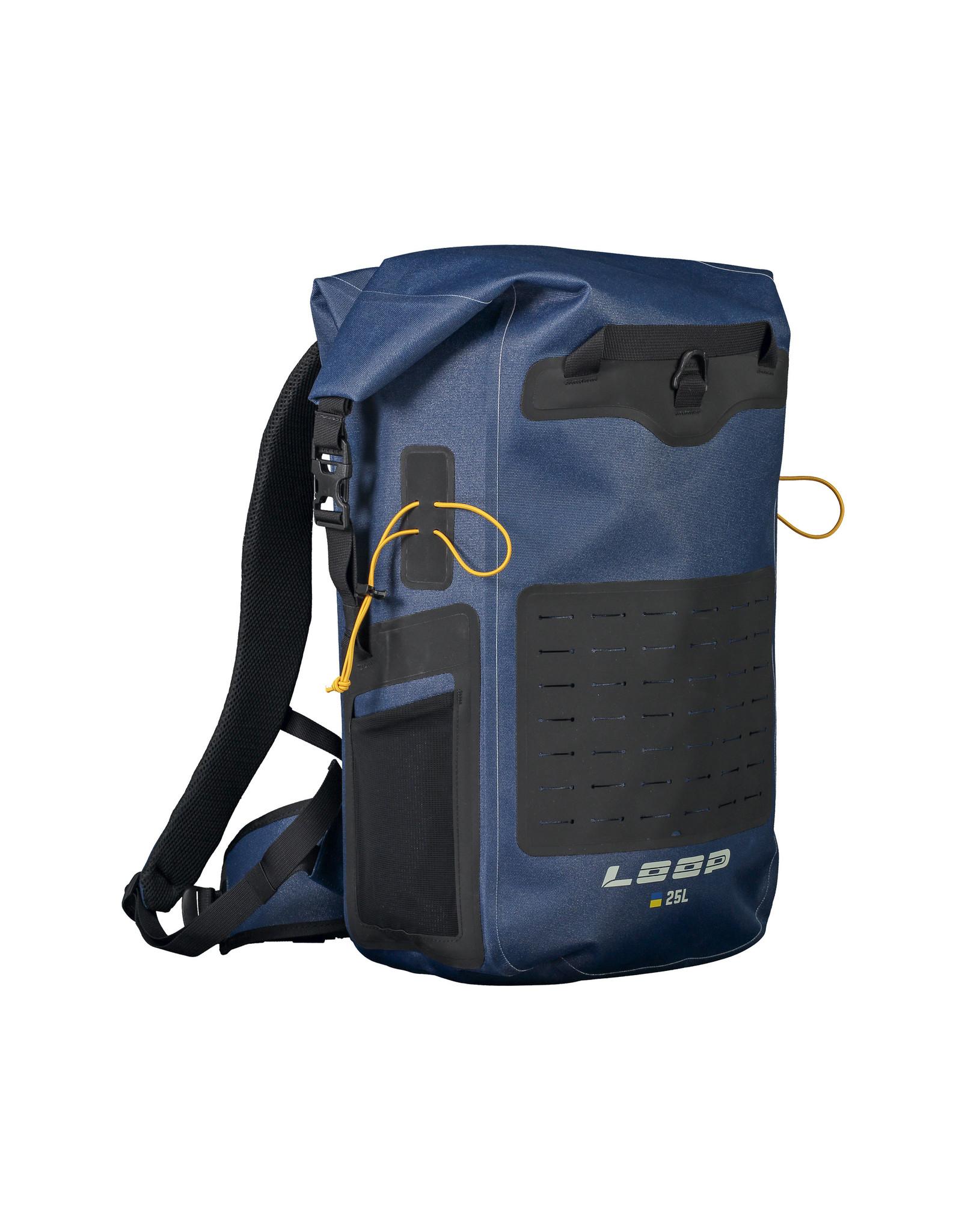 LOOP LOOP Dry Backpack 25L Petrol