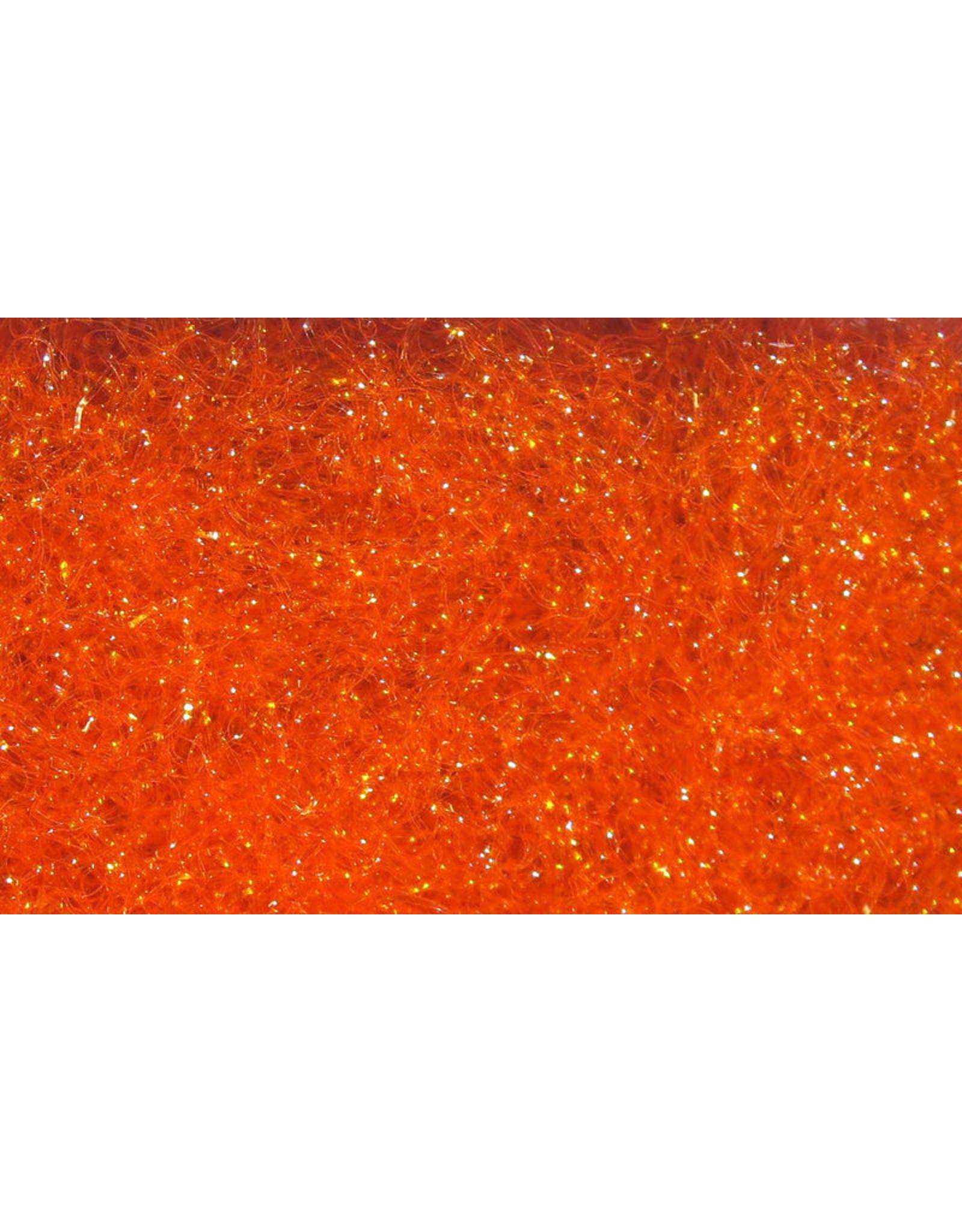 Hareline Ice Dub - UV Hot Orange