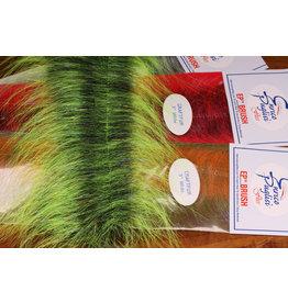 "Hareline EP Craft Fur Brush 3"" White/White CFB30"