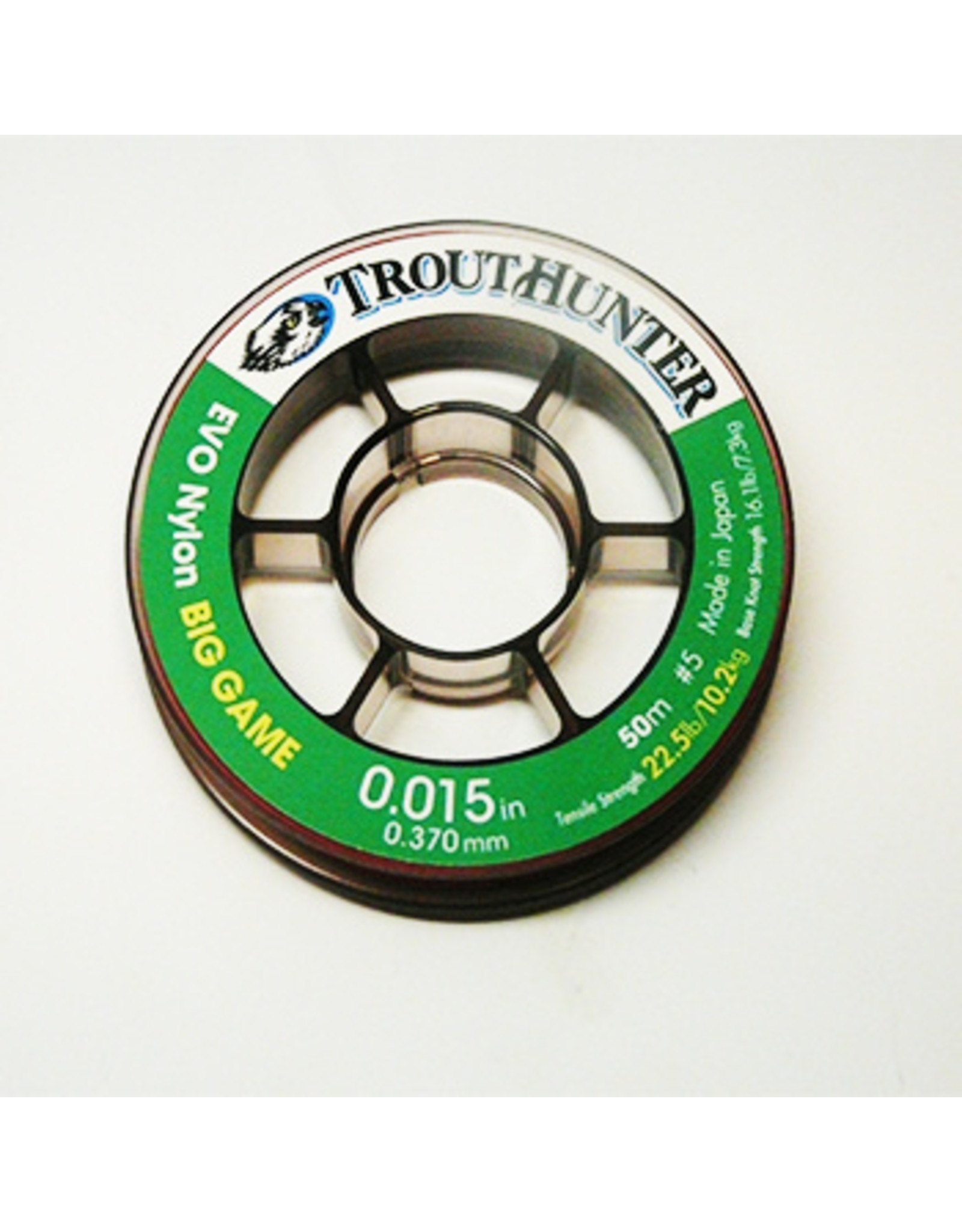 Trouthunter Trouthunter EVO Nylon Big Game Leader Material .010 (1X) - 12.1lb 50m