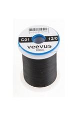 Veevus 12/0 Black Veevus Thread