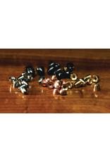 Hareline Tungsten Cones - Black Small TCS11
