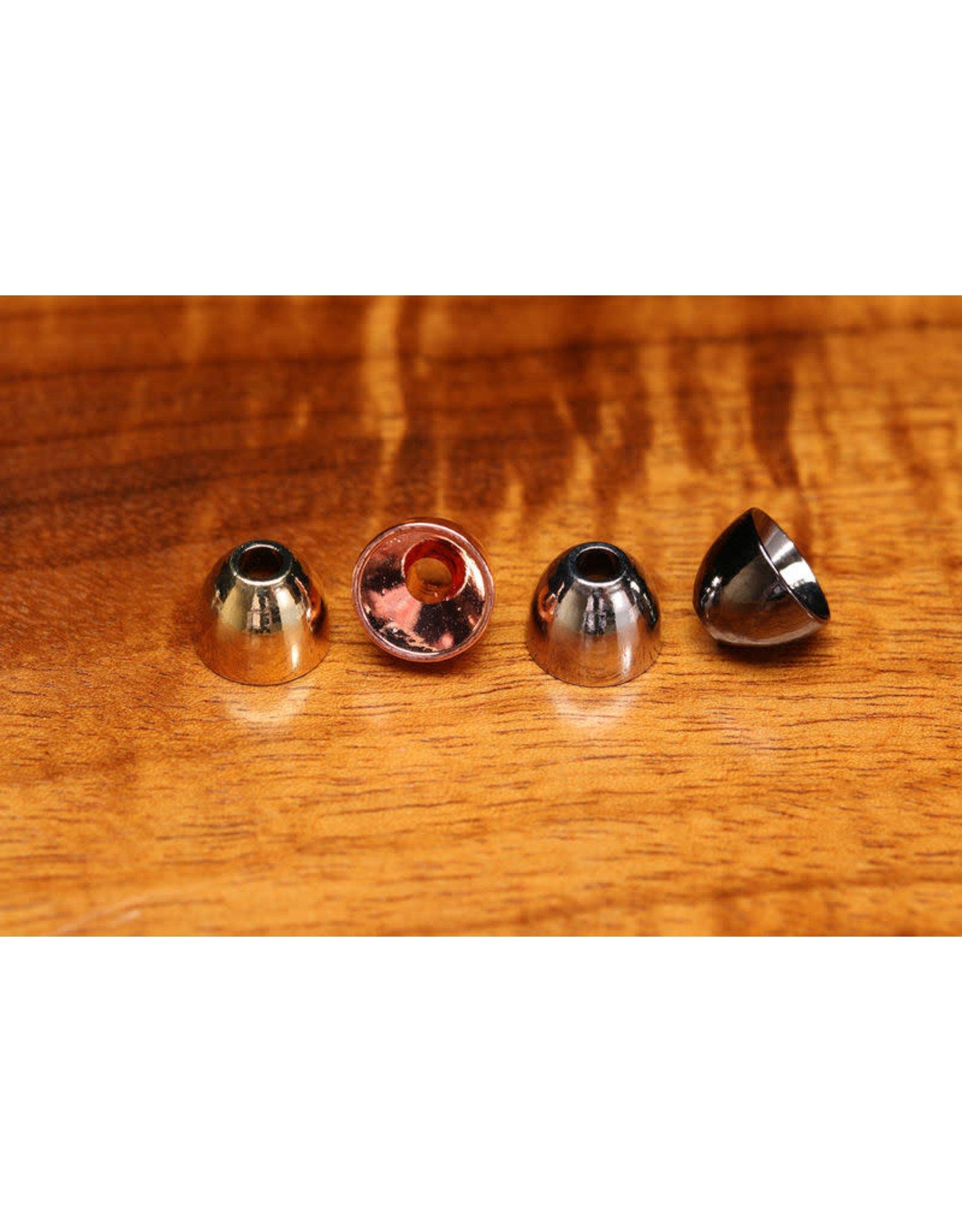 "Hareline Alaska 3/8"" Brass Cones - Nickel"