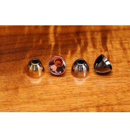 "Hareline Alaska 3/8"" Brass Cones - Black"