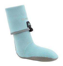 Simms Women's Guide Guard Socks - Aqua - Small