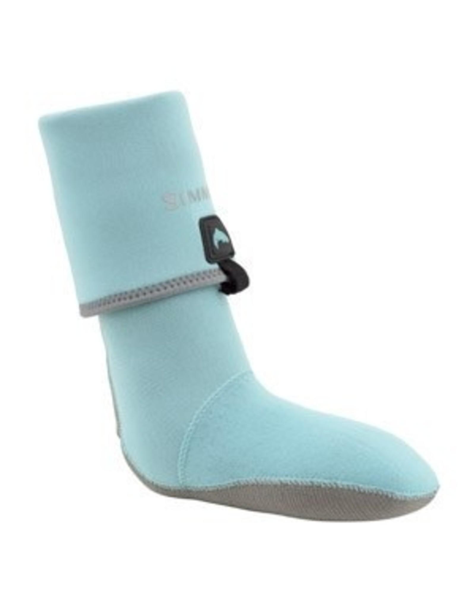 Simms Women's Guide Guard Socks - Aqua - Large
