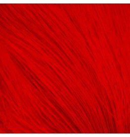 SHOR SHOR Deer Body Hair Dyed from White (Tanned Skin) - Red