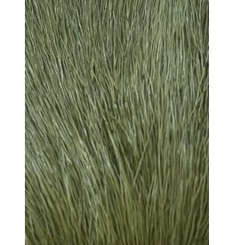 SHOR SHOR Deer Body Hair Dyed from White (Tanned Skin) - Olive