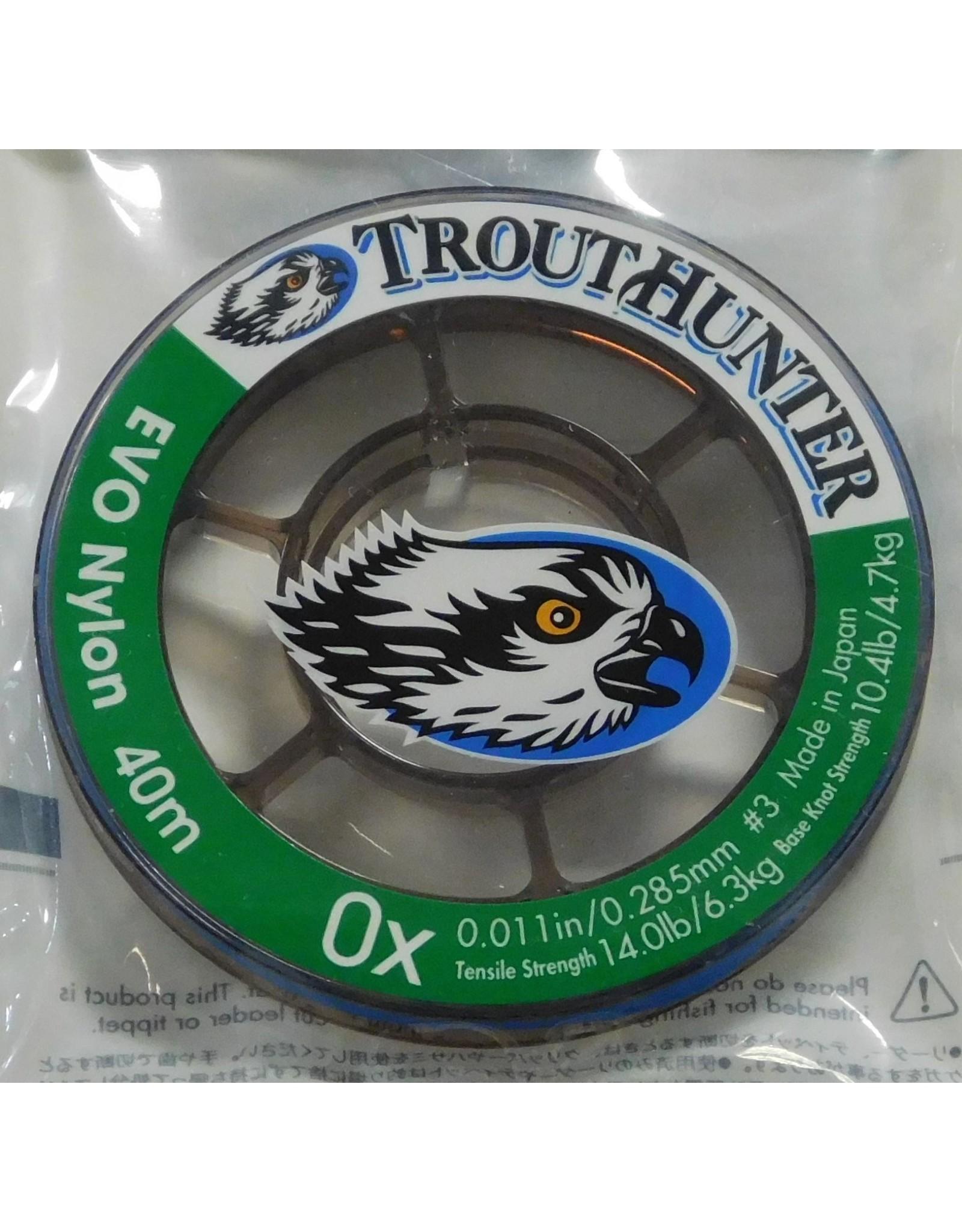 Trouthunter Trouthunter EVO Nylon Tippet 0X 40m