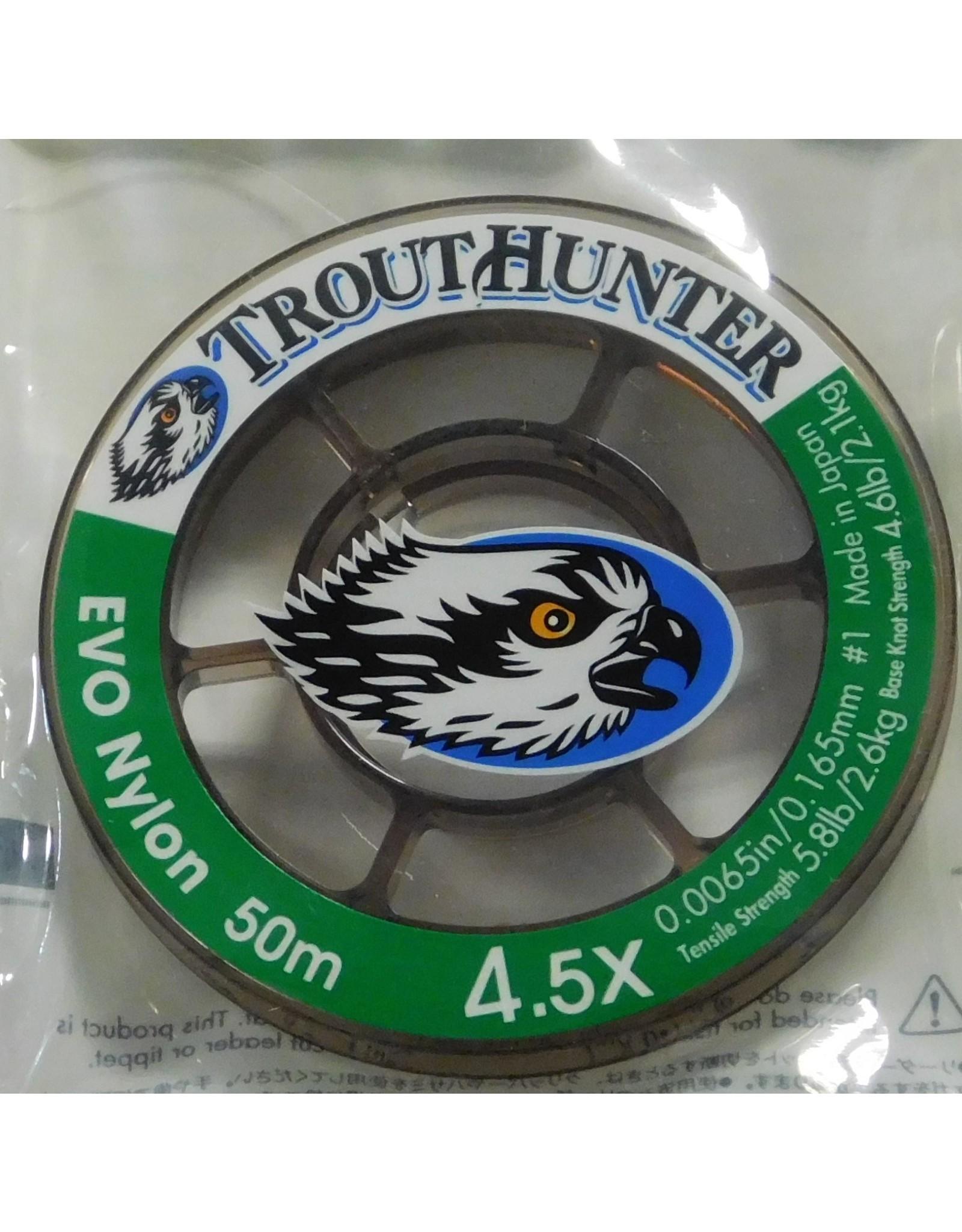 Trouthunter TroutHunter EVO Nylon Tippet 4.5X 50m