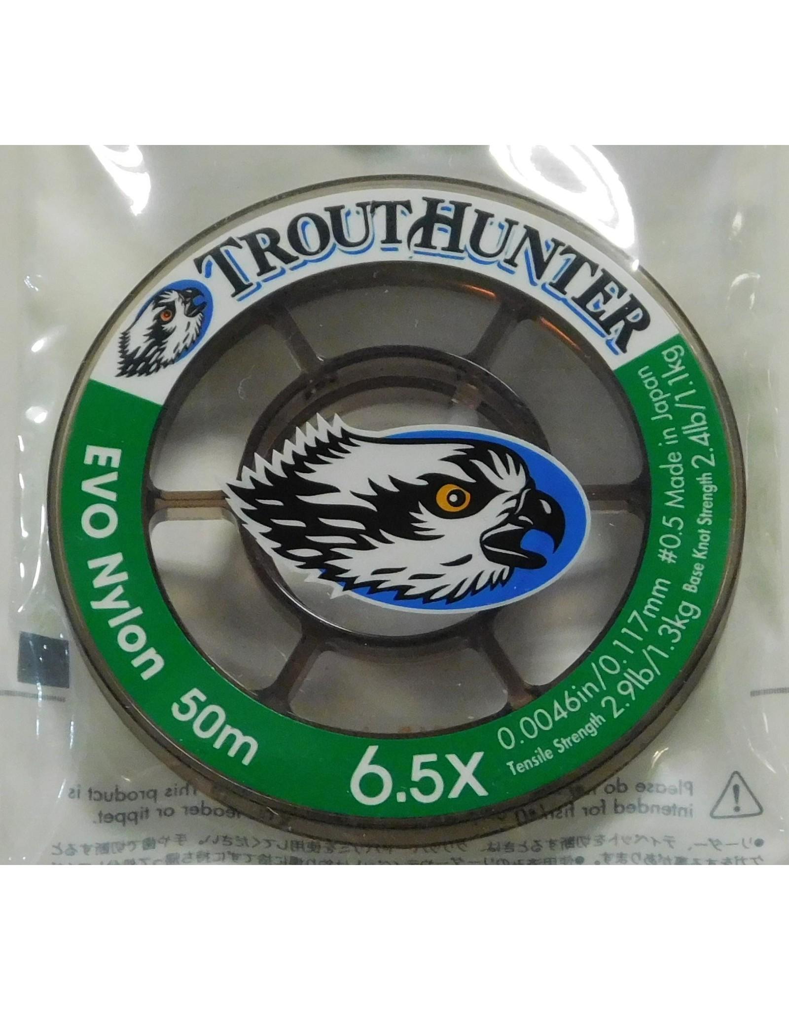 Trouthunter TroutHunter EVO Nylon Tippet 6.5X 50m