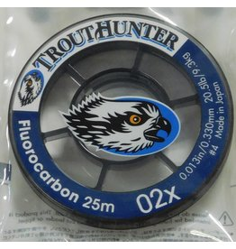 Trouthunter TroutHunter Big Game Fluorocarbon Tippet 02X 25m