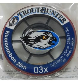 Trouthunter TroutHunter Big Game Fluorocarbon Tippet 03X 25m